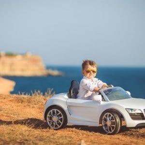 animation voiture électrique pour enfant